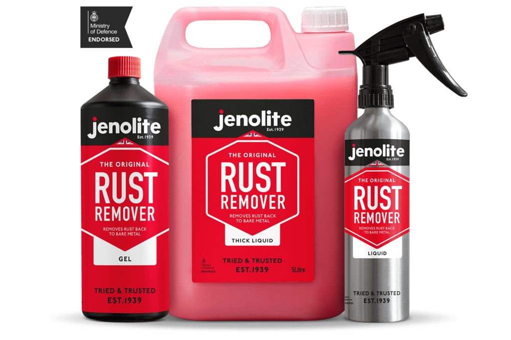 rust remover products